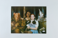 "Jerry Maren, Karl Slover, & Donna Stewart Hardaway Signed ""The Wizard of Oz"" 11x14 Photo (JSA COA) (See Description) at PristineAuction.com"