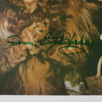 """Jerry Maren, Karl Slover, & Donna Stewart Hardaway Signed """"The Wizard of Oz"""" 11x14 Photo (JSA COA) at PristineAuction.com"""