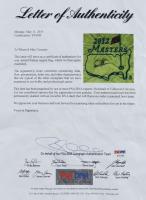 Arnold Palmer Signed 2012 Masters Golf Pin Flag (PSA LOA) at PristineAuction.com