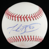 Mookie Betts Signed OML Baseball (PSA COA) (See Description) at PristineAuction.com