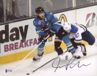Joe Pavelski Signed Sharks 8x10 Photo (Beckett COA) at PristineAuction.com