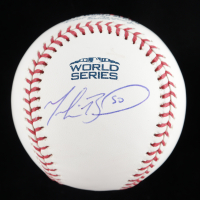Mookie Betts Signed 2018 World Series Baseball (PSA COA) at PristineAuction.com