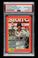 Dale Earnhardt Signed 1992 Traks Mom-n-Pop's Ham Dale Earnhardt #5 (PSA Encapsulated) at PristineAuction.com