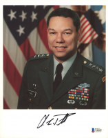 Colin Powell Signed 8x10 Photo (Beckett COA) at PristineAuction.com