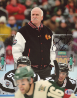 Joel Quenneville Signed Blackhawks 8x10 Photo (Beckett COA) at PristineAuction.com