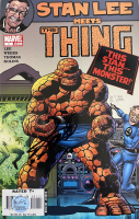 "Stan Lee Signed 2006 ""Stan Lee Meets The Thing"" Issue #1 Marvel Comic Book (Lee COA) at PristineAuction.com"