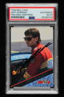 Jeff Gordon Signed 1994 Wheels High Gear #73 Winston Cup Rookie of the Year (PSA Encapsulated) at PristineAuction.com