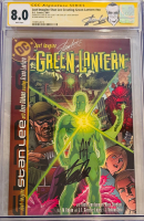 "Stan Lee Signed 2002 ""Just Imagine Stan Lee: Creating Green Lantern"" Issue #1 Marvel Comic Book (CGC Encapsulated - 8.0) at PristineAuction.com"