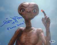 "Matthew DeMeritt Signed ""E.T.: The Extra Terrestrial"" 8x10 Photo Inscribed ""(E.T.) Phone Home!"" (Beckett COA) at PristineAuction.com"