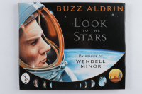 "Buzz Aldrin Signed ""Look To The Stars"" Hardcover Book (PSA COA) (See Description) at PristineAuction.com"
