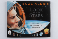 "Buzz Aldrin Signed ""Look To The Stars"" Hardcover Book (PSA COA) at PristineAuction.com"