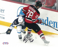 Damon Severson Signed Devils 8x10 Photo (PSA COA) at PristineAuction.com