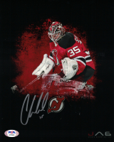 Cory Schneider Signed Devils 8x10 Photo (PSA COA) at PristineAuction.com