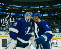 Mathieu Joseph Signed Lightning 8x10 Photo (PSA COA) at PristineAuction.com