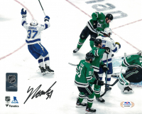 Yanni Gourde Signed Lightning 8x10 Photo (PSA COA) at PristineAuction.com