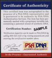 Yanni Gourde Signed Lightning 8x10 Photo (PSA COA) at PristineAuction.com