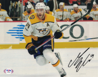 Mattias Ekholm Signed Predators 8x10 Photo (PSA Hologram) at PristineAuction.com