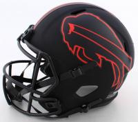 Thurman Thomas Signed Bills Full-Size Eclipse Alternate Speed Helmet (Beckett COA) at PristineAuction.com