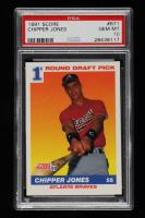 Chipper Jones 1991 Score #671 RC (PSA 10) at PristineAuction.com