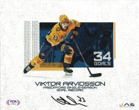 Viktor Arvidsson Signed Predators 8x10 Photo (PSA COA) at PristineAuction.com