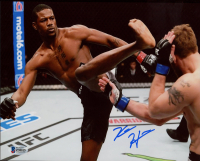 Kevin Holland Signed UFC 8x10 Photo (Beckett COA) at PristineAuction.com