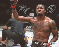 Kevin Holland Signed UFC 8x10 Photo with Inscription (Beckett COA) at PristineAuction.com