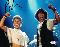 "Alex Winter Signed ""Bill & Ted's Excellent Adventure"" 8x10 Photo (PSA COA) at PristineAuction.com"