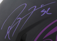 Ray Lewis Signed Ravens Full-Size Authentic On-Field Eclipse Alternate Speed Helmet (Beckett COA) at PristineAuction.com