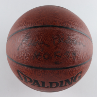 "George Mikan Signed NBA Basketball Inscribed ""H.O.F. 59"" (JSA COA) at PristineAuction.com"