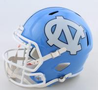 Javonte Williams Signed North Carolina Tar Heels Full-Size Speed Helmet (Beckett COA) at PristineAuction.com