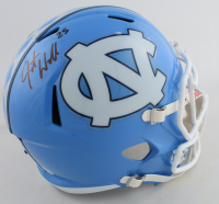 Javonte Williams Signed North Carolina Tar Heels Full-Size Speed Helmet (Beckett COA) at PristineAuction.com
