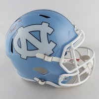 Javonte Williams Signed North Carolina Tar Heels Full-Size Speed Helmet (Beckett COA) (See Description) at PristineAuction.com