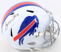 Thurman Thomas Signed Bills Full-Size Speed Helmet (Beckett COA) at PristineAuction.com