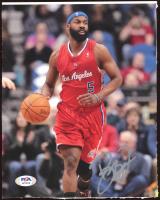 Baron Davis Signed Clippers 8x10 Photo (PSA Hologram) (See Description) at PristineAuction.com