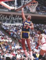 Kareem Abdul-Jabbar Signed Lakers 8x10 Photo (PSA Hologram) at PristineAuction.com