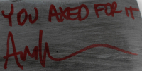 """Ari Lehman Signed """"Friday the 13th"""" Prop Replica Axe Inscribed """"You Axed For It"""" (Lehman Hologram) at PristineAuction.com"""