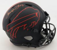 Thurman Thomas Signed Bills Full-Size Eclipse Alternate Speed Helmet (Beckett COA) (See Description) at PristineAuction.com