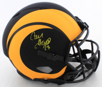 Cam Akers Signed Rams Full-Size Eclipse Alternate Speed Helmet (Beckett COA) at PristineAuction.com