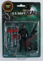 "Robert O'Neill Signed ""U.S. Navy Seals"" Figurine Inscribed ""Never Quit!"" (PSA Hologram) at PristineAuction.com"