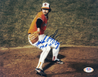 "Mike Flanagan Signed Orioles 8x10 Photo Inscribed ""79 AL Cy"" (PSA COA) at PristineAuction.com"