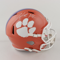 Hunter Renfrow Signed Clemson Tigers Full-Size Speed Helmet (Beckett COA) at PristineAuction.com