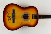 """Vince Gill & Amy Grant Signed 38"""" Acoustic Guitar (Beckett COA) (See Description) at PristineAuction.com"""