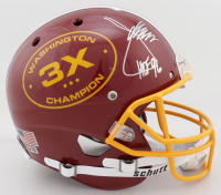 "Coach Joe Gibbs Signed Exclusive 3x Super Bowl Champion Full-Size Helmet Inscribed ""HOF 96"" (PA COA) at PristineAuction.com"