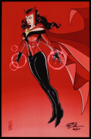 "Tom Hodges - Scarlet Witch - Marvel Comics - Signed 11"" x 17"" Print LE #/25 (PA COA) at PristineAuction.com"