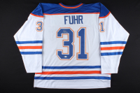 Grant Fuhr Signed Jersey (Beckett COA) at PristineAuction.com
