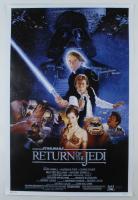 """Jeremy Bulloch Signed """"Star Wars Episode VI: Return of the Jedi"""" 24x36 Movie Poster Inscribed """"Boba Fett"""" (Radtke Hologram) (See Description) at PristineAuction.com"""