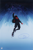 "Shameik Moore Signed ""Spider-Man: Into the Spider-Verse"" 20x30.5 Poster (Beckett COA & PSA COA) at PristineAuction.com"