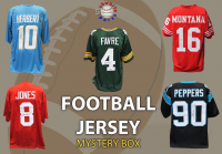 Schwartz Sports Football Players Signed Football Jersey Mystery Box - Series 34 - (Limited to 100) at PristineAuction.com