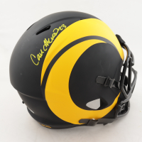 Cam Akers Signed Rams Full-Size Eclipse Alternate Speed Helmet (Beckett COA) (See Description) at PristineAuction.com