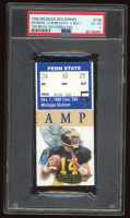 1998 Wolverines vs. Nittany Lions NCAA Game Ticket (PSA 4) at PristineAuction.com
